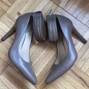 Banana Republic zipper stilettos